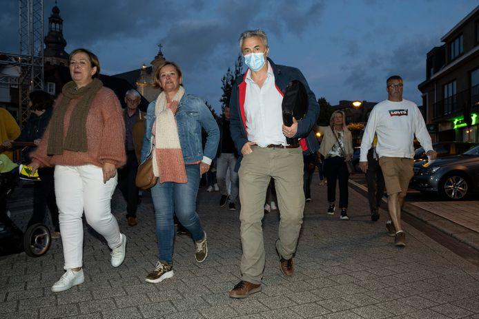 Het protest voor de gemeenteraad kreeg ook een verhit verlengstuk in het Zeelse halfrond.