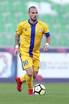 Aanvoerder Sneijder heeft eerste goal in Qatar te pakken