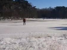 Natuurmonumenten: 'Geen verstoring door schaatsers op onveilig ijs bij Buurserzand'