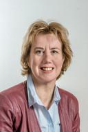 Burgemeester Margo Mulder van Goes.