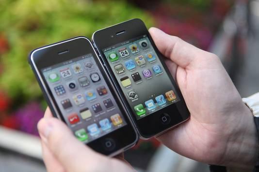 iPhones 3 et 4