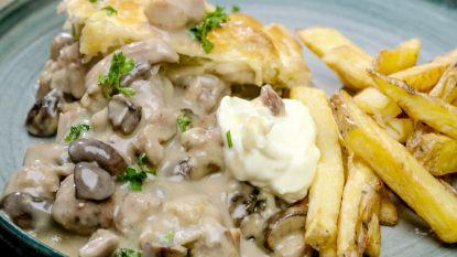 Een heerlijke klassieker: Loïc maakt vol-au-vent met frietjes
