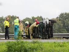 Gewonden, ravage en file na ernstig ongeluk op A1 bij Bathmen