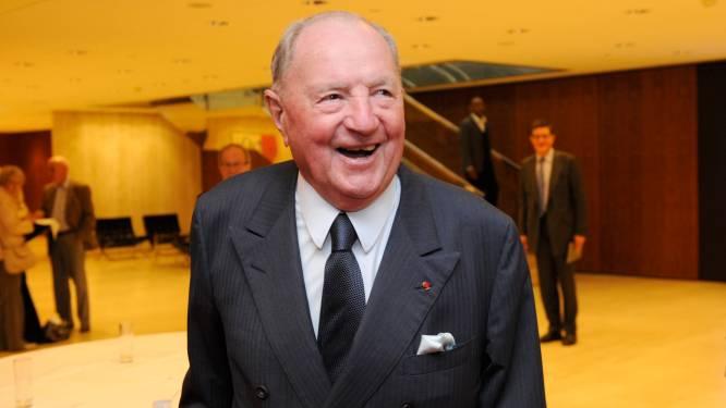 Albert Frère (92), zakenman en rijkste Belg, is overleden