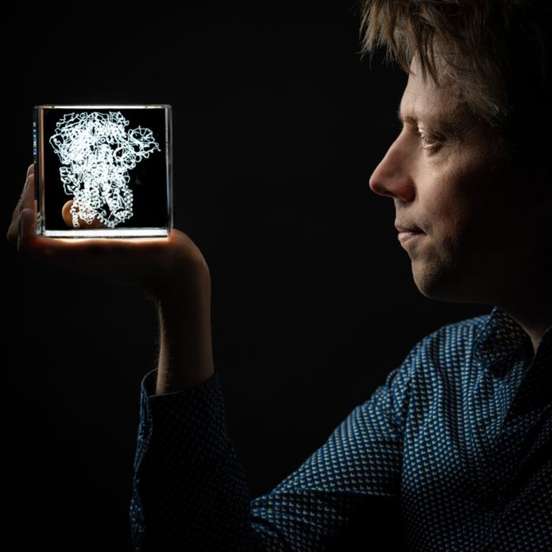 Onderzoeksleider Berend-Jan Bosch.