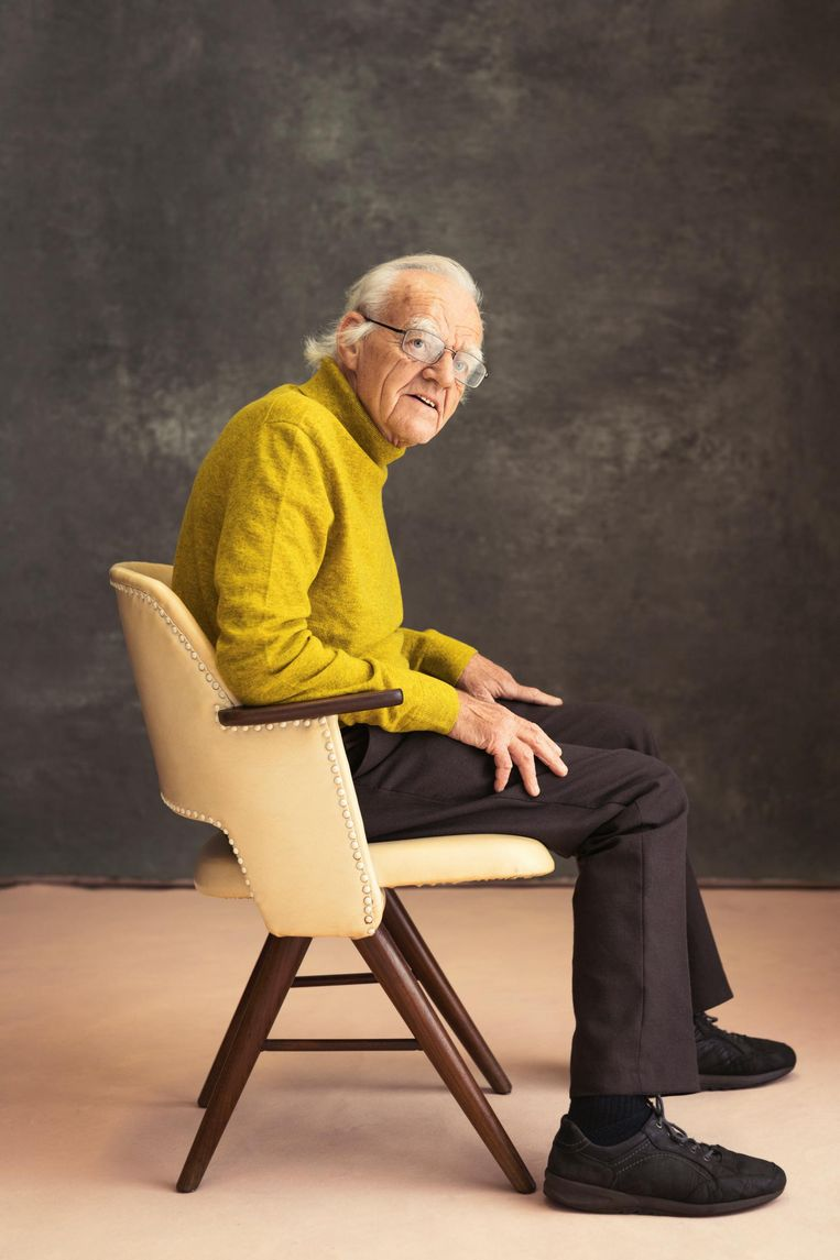 Co van Melle (82): 'Mijn idealen leven volop, zo oud ben ik nog niet' Beeld Dana van Leeuwen