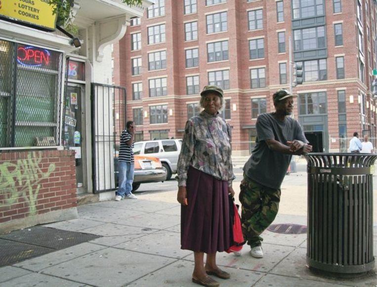 In het District of Columbia (de stad Washington en omgeving) vormen minderheidsgroepen de meerderheid. Hier een foto van de wijk Columbia Heights in Washington. Foto GPD/Regina te Grotenhuis Beeld