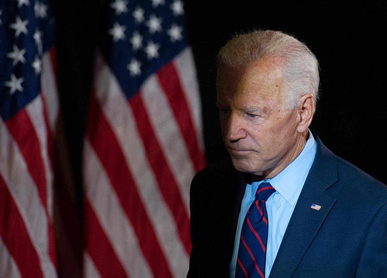 De Democraat Joe Biden, voormalig vicepresident en nu kandidaat voor het presidentschap. De Amerikaanse president Trump zou druk hebben uitgeoefend op zijn Oekraïense ambtsgenoot Zelenski om een corruptieonderzoek in te stellen naar Biden en diens zoon. Beeld Getty Images