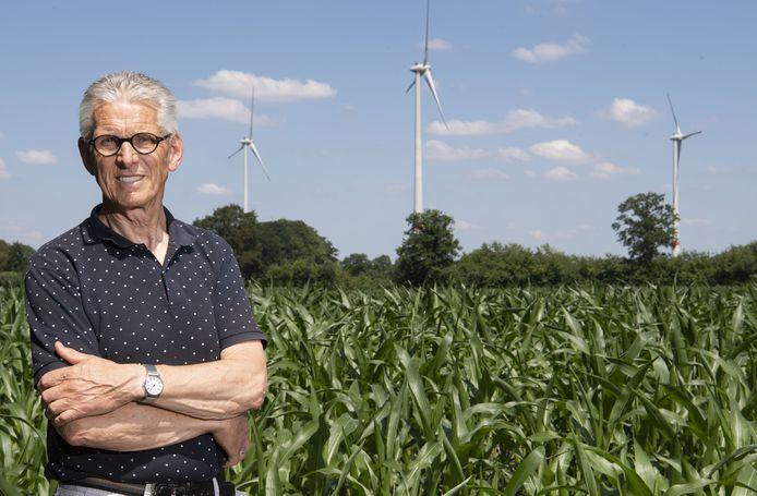Hans te Grotenhuis, voorzitter Burgerwindcoöperatie Achterhoekse Wind Energie (in oprichting) voor enkele van de meest recente windmolens net over de grens in buurgemeente Vreden.