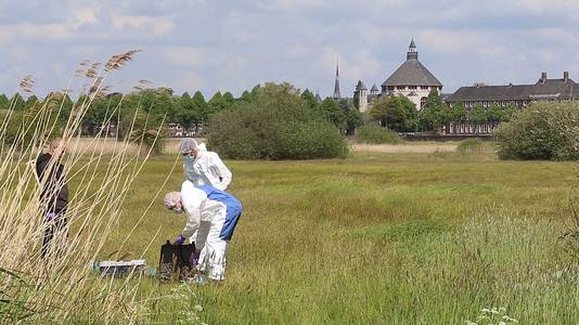 Onderzoek tijdens de vondst van de 51-jarige vrouw uit Den Bosch