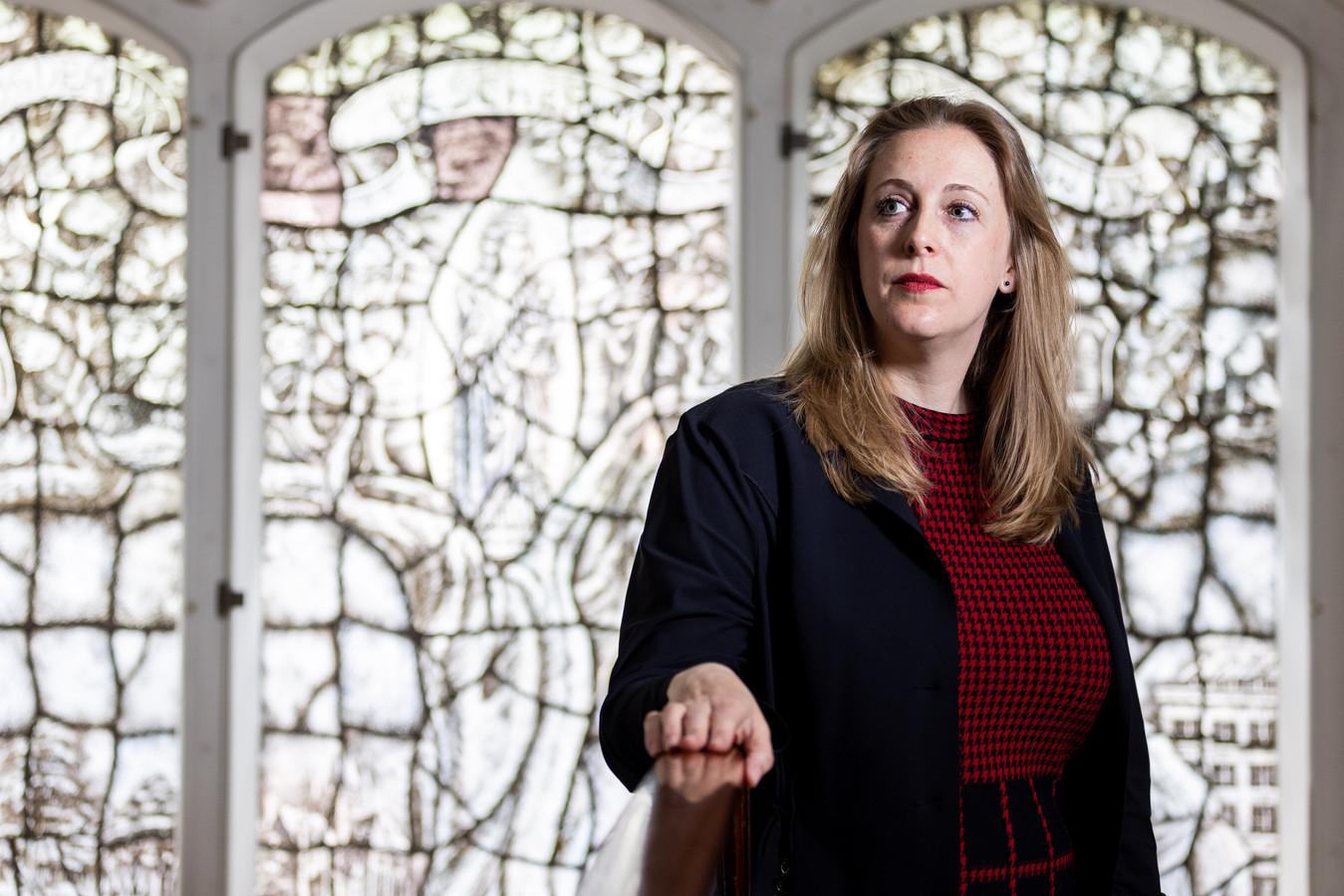 VVD-wethouder financiën Anne Christien Spekle.