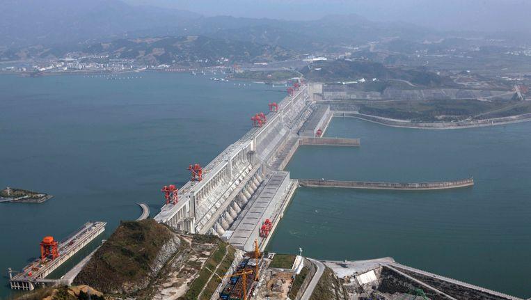 De Drieklovendam in China heeft het ecosysteem in de regio om zeep geholpen. Beeld REUTERS