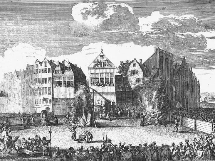 Zelfs in de middeleeuwen was de straf voor de Dordtse moordfamilie gruwelijk