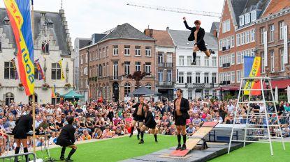 FOTOALBUM: Boulevart betovert met circus en straattheater