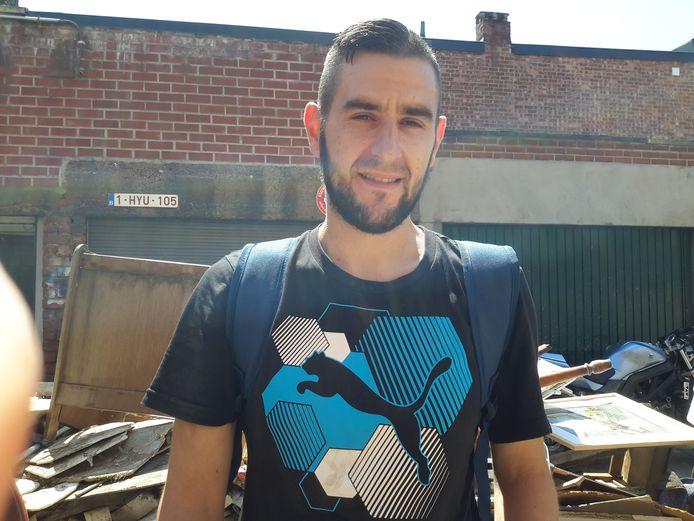 Un des trois jeunes hommes qui ont aidé le mari de Majo Gerard à sortir en vie de chez lui.