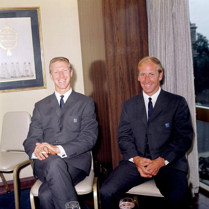Jackie et Bobby Charlton
