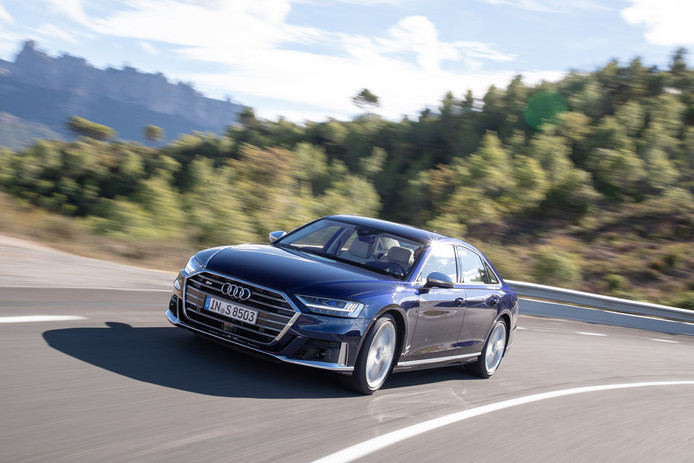 De nieuwe Audi S8