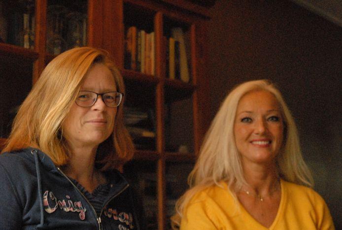 Miranda van Gaalen (links) en Jeannette Wouters.