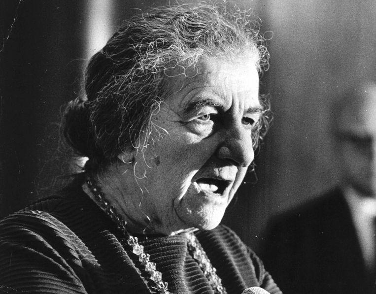 Golda Meir Beeld -