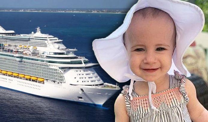Chloe (1,5) kwam om het leven op een cruiseschip.