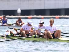 Geen medaille voor roeier Sander de Graaf uit Made: vier-zonder eindigt als zesde in finale