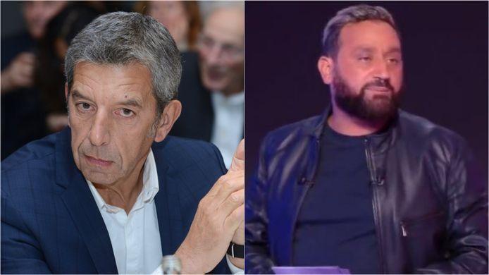 Michel Cymes et Cyril Hanouna