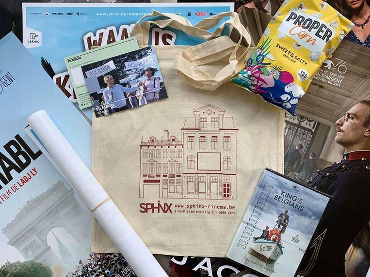 Sphinx Cinema in Gent heeft iets om cadeau te geven aan filmfans die uitkijken naar een bioscoopvolle zomer. Beeld RV