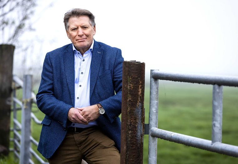 Sjaak van der Tak, voorzitter van de Land- en Tuinbouworganisatie Nederland. Beeld ANP