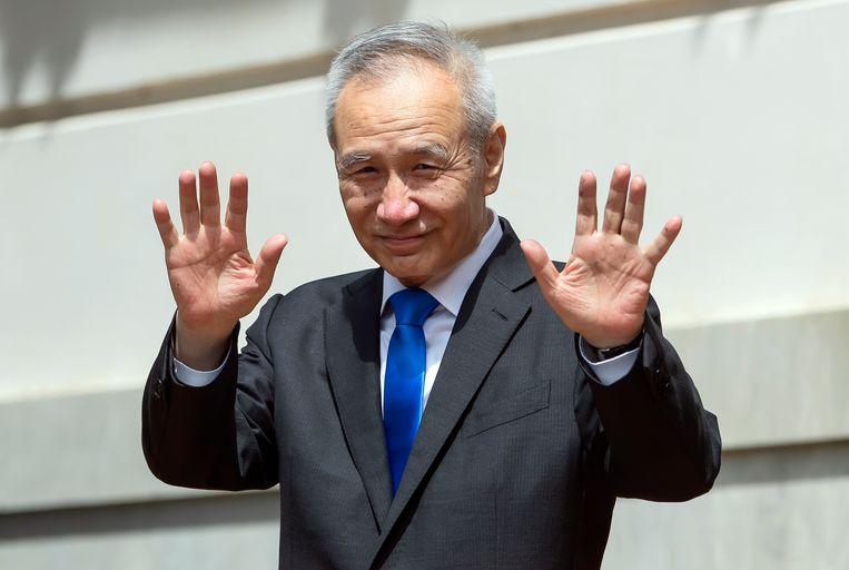 De Chinese vicepremier Liu He. Beeld EPA