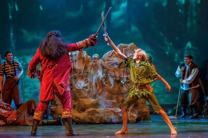 De musical 'Peter Pan' is af en toe wel 'thrillerachtig'.