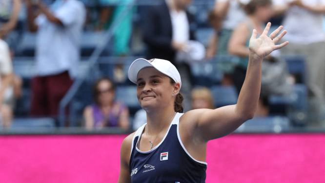 La N.1 mondiale de tennis Ashleigh Barty met un terme définitif à sa saison