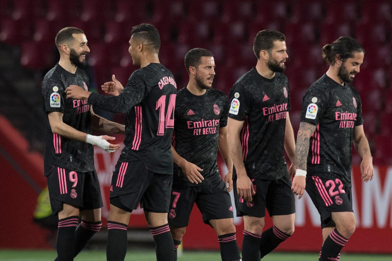 Eden Hazard et le Real collent toujours aux basques de l'Atletico, fin de saison à suspense en Liga.