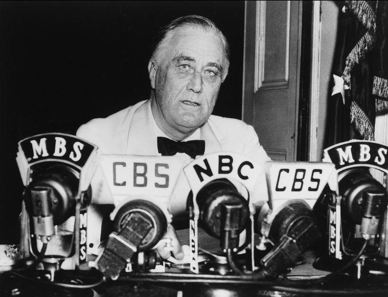 Franklin Delano Roosevelt. Beeld photo news