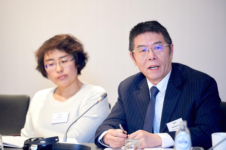 Xinning Song (65), de voormalige directeur van het Confuciusinstituut aan de VUB. Acht jaar lang mag hij de Schengenzone niet in.