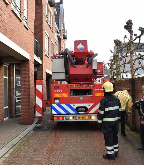 Brandweer voorkomt gevaar bij woning in Heeze