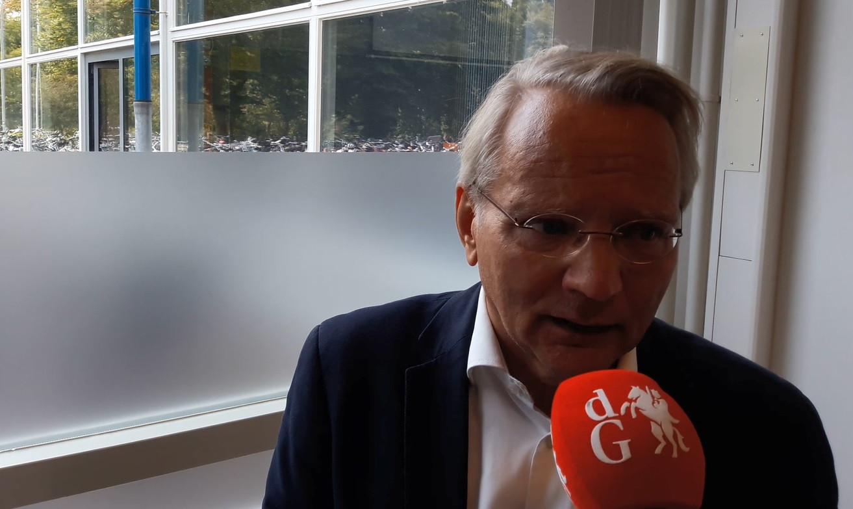 Ton Sipkens, rector van het Ulenhofcollege in Doetinchem.
