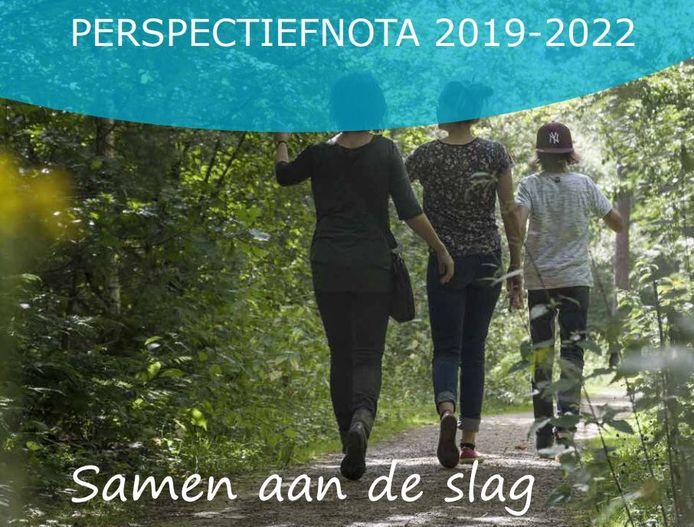 'Samen aan de slag': ondertitel van de Perspectiefnota die het Oisterwijks college aan de gemeenteraad voorlegde.