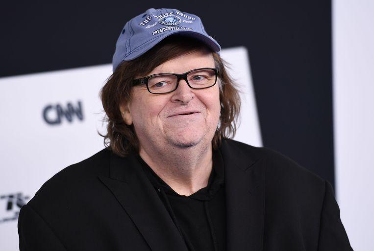 Filmmaker Michael Moore. Beeld AFP