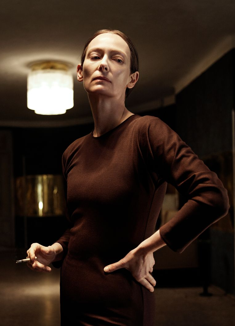 Tilda Swinton as Madame Blanc. Beeld