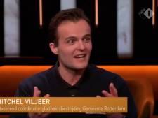 Rotterdamse sneeuwruimers stelen de show op tv: 'Je wil gewoon de eerste sneeuwvlok op die schuivert hebben'