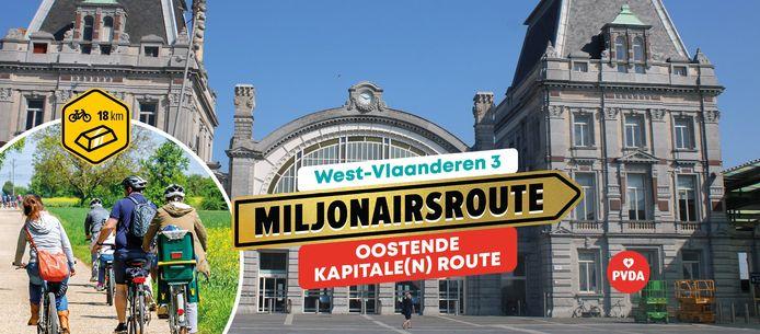 PVDA Oostende-Middenkust kondigt een 'miljonairsroute' aan in de kuststad
