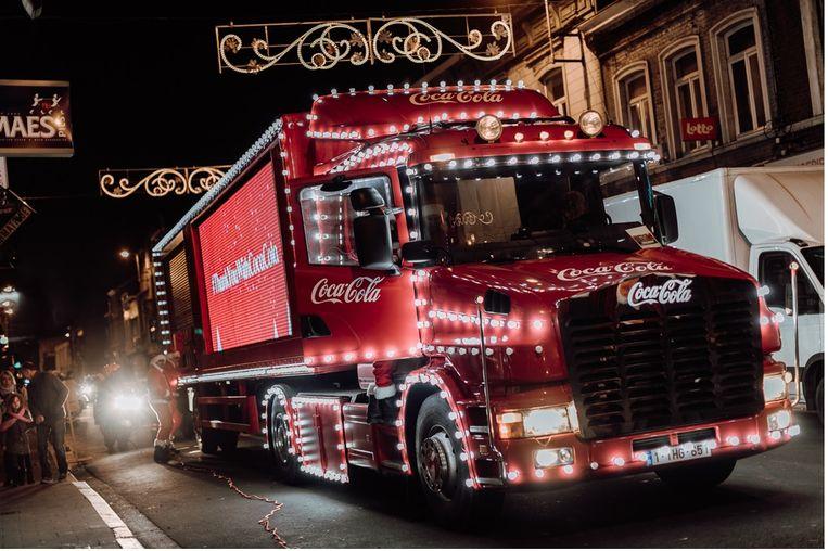 De Coca-Cola Kersttruck