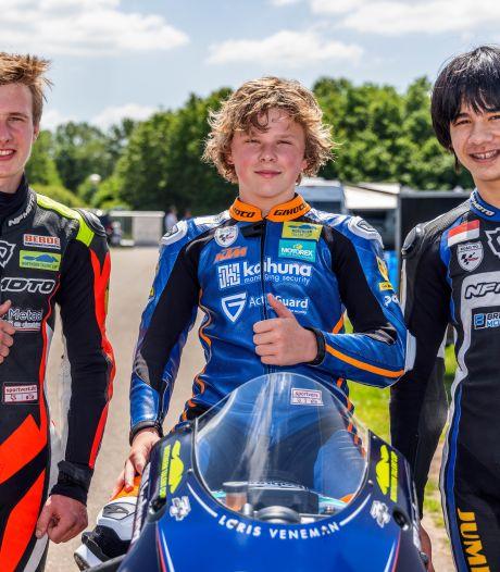 Drie jongens uit de buurt starten tijdens de TT van Assen: 'Het goede gevoel ontbreekt nog een beetje'