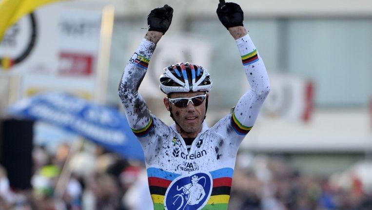 Wereldkampioen pakte zijn negende nationale titel in Waregem. Beeld BELGA