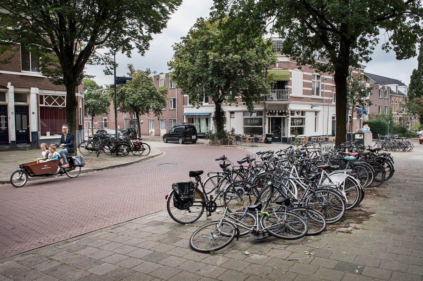 De Nijmeegse wijk Bottendaal, waar veel panden zijn omgebouwd tot studentenhuis.