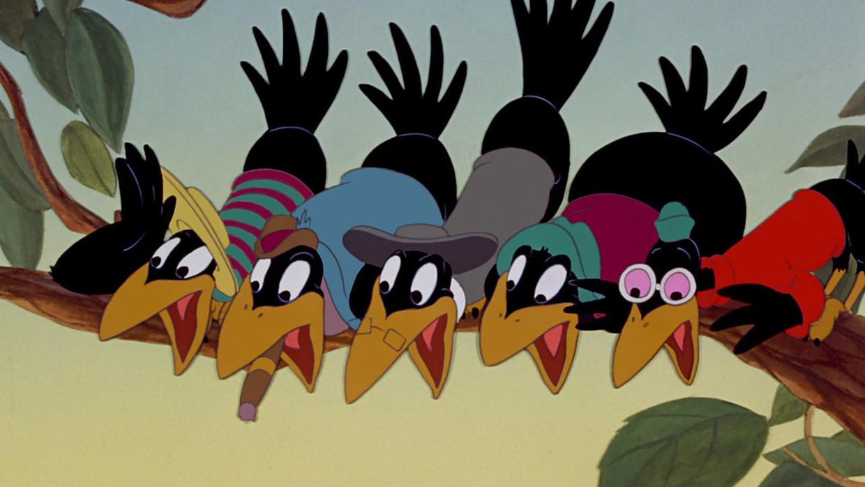 De kraaien uit 'Dumbo' Beeld Disney