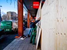 Winkeliers vrezen nieuwe rellen: winkels uit voorzorg leeggehaald en dichtgetimmerd