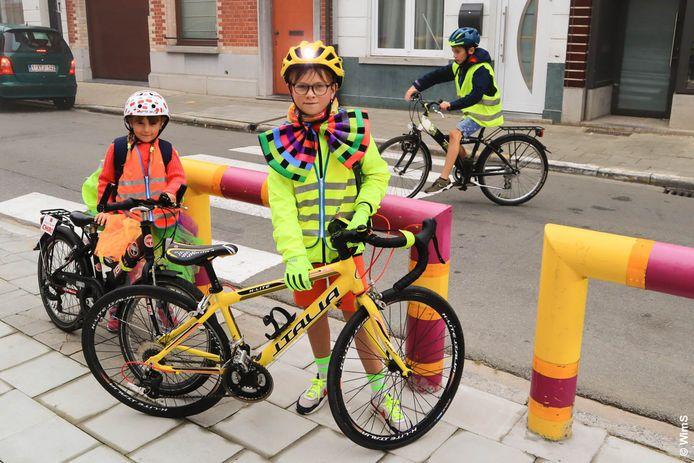 Geraardsbergen: Op GO! Centrum werd de oproep om te voet, met de fiets of step naar school te komen massaal opgevolgd.