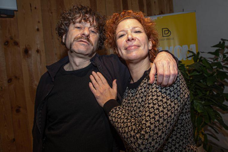 Veerle Malschaert en Bart Vanneste (alias Freddy De Vadder) die Eufrazie en Cesar in de musical zullen spelen.