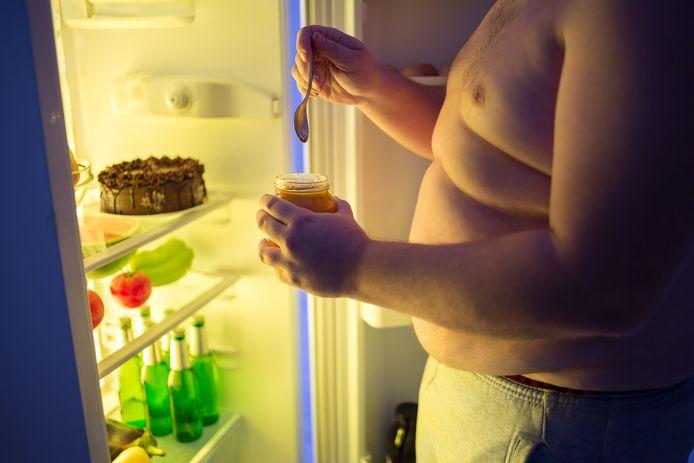 Kristof kon niet stoppen met eten. Foto ter illustratie.